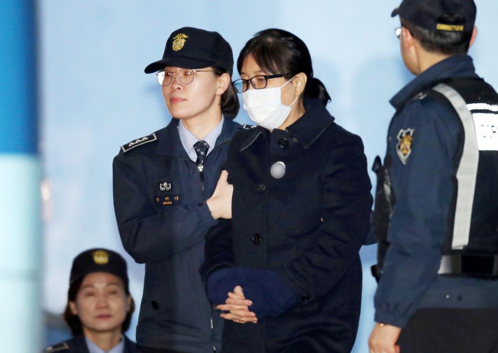 South Korea ex-president's confidante sentenced and fined