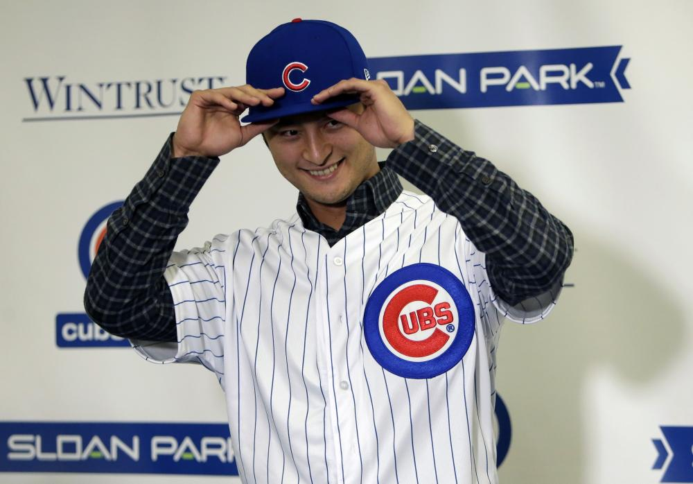 Yu Darvish, Cubs finalize $126 million, 6-year contract