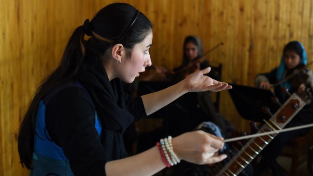 Afghan institute, Metallica win music'