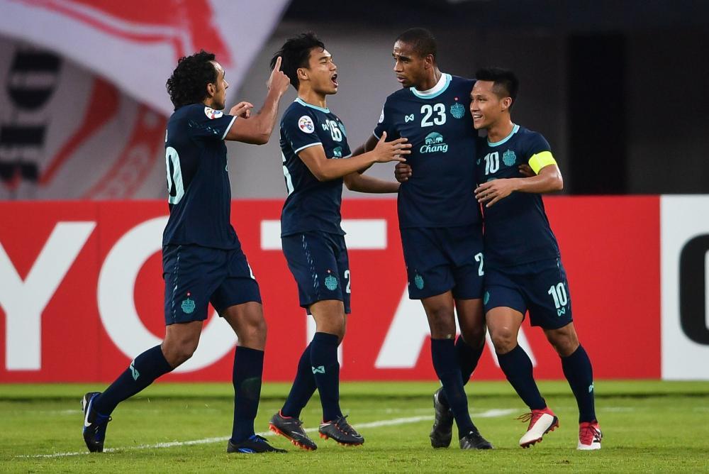 Image result for Buriram united 1-1 Guangzhou Evergrande