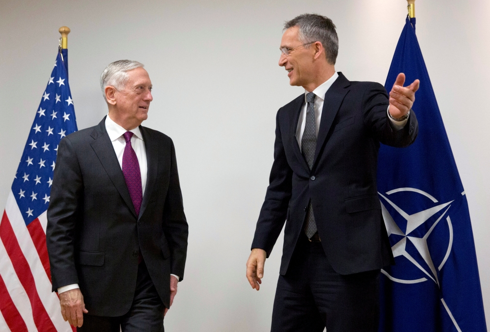 North Atlantic Treaty Organisation  supports expansion of United States  military presence in Europe