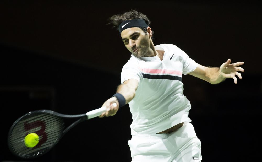 Rotterdam Open: Roger Federer beats Robin Haase to make history