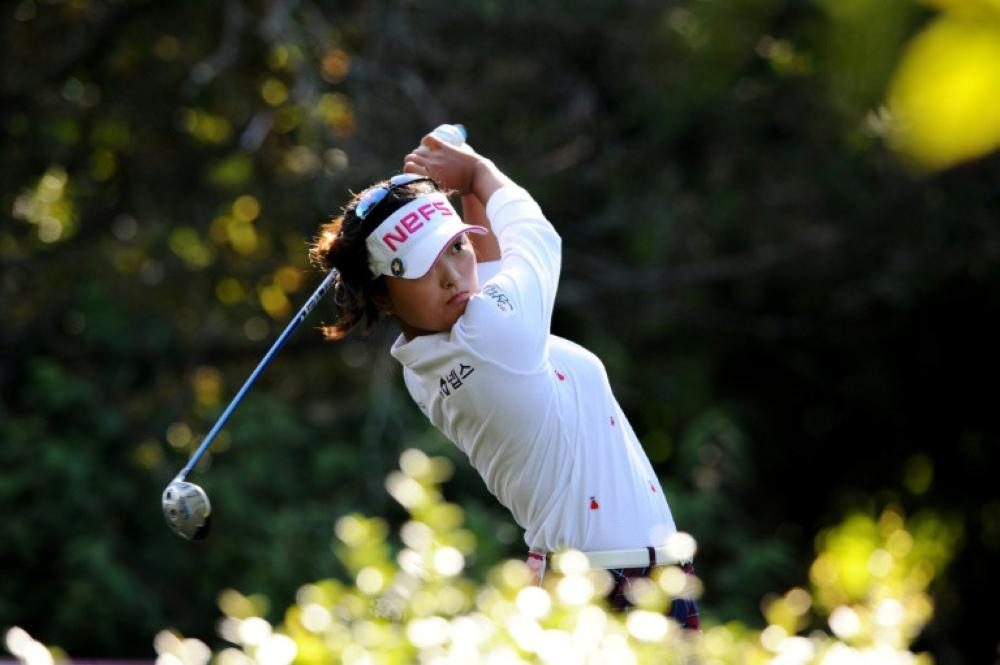 South Korea's Ko leads Australian Open by two shots
