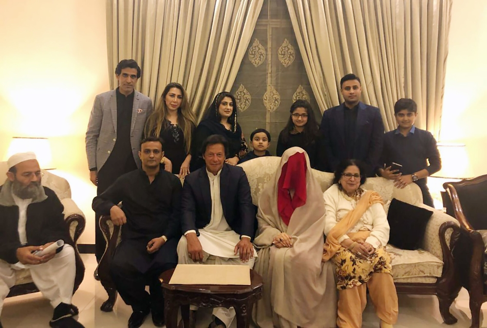 PTI Chief Imran Khan's third marriage confirmed