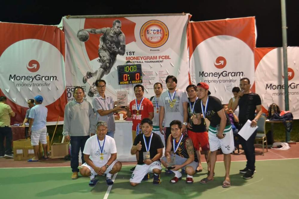 Reinforced Division B champion MoneyGram with Mohamed Bayoumi and Ahmad Khasawneh