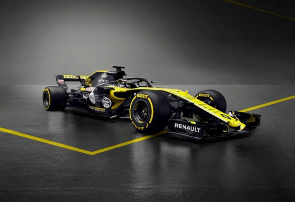 Renault Sport Formula One Team reveals 2018 challenger