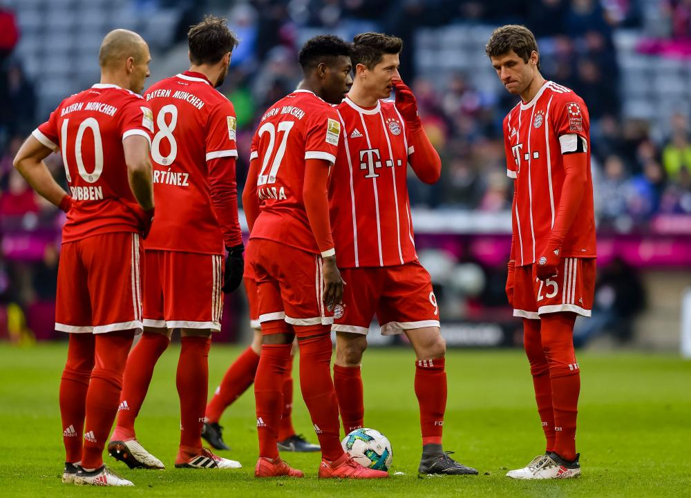 Bayern Miss Out On Record Win As They Are Held By Hertha