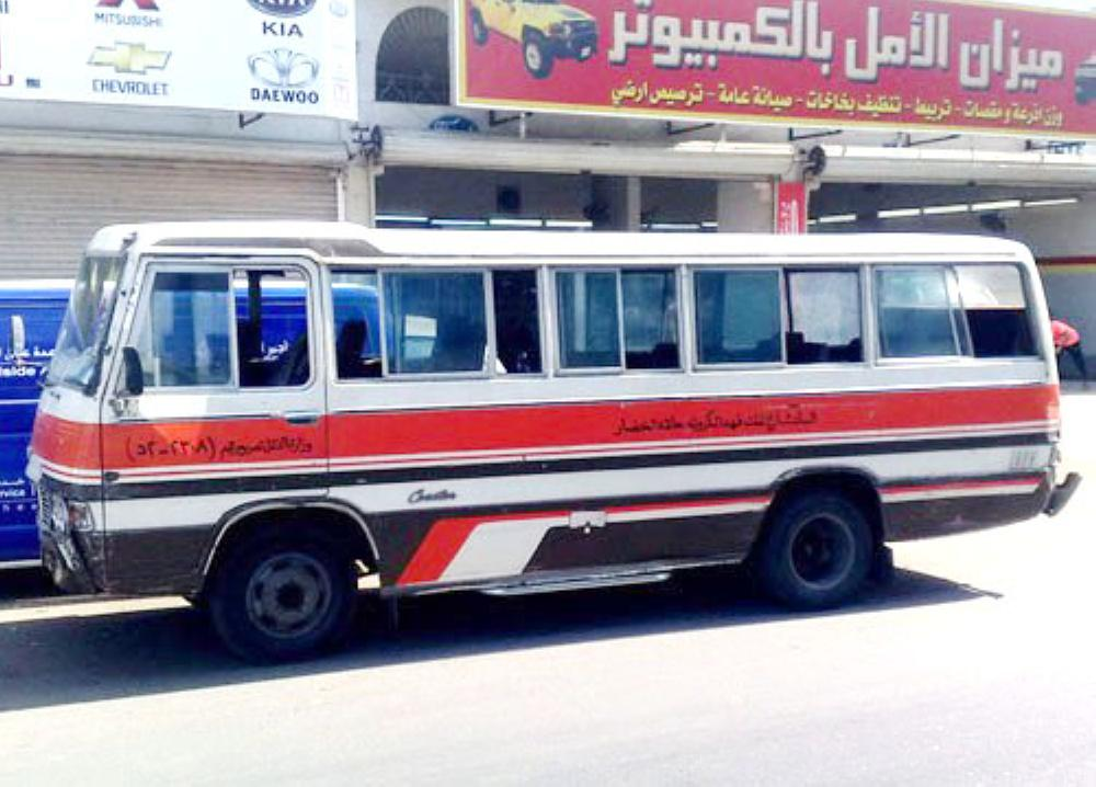 Drivers who were earlier driving the ubiquitous haflas (mini-buses) on the Khat Al-Balad (downtown route) have been asked to either work with the Saudi Public Transport Company (Saptco) on monthly salaries or obtain loans from the Social Development Bank to start their own business. — File photo