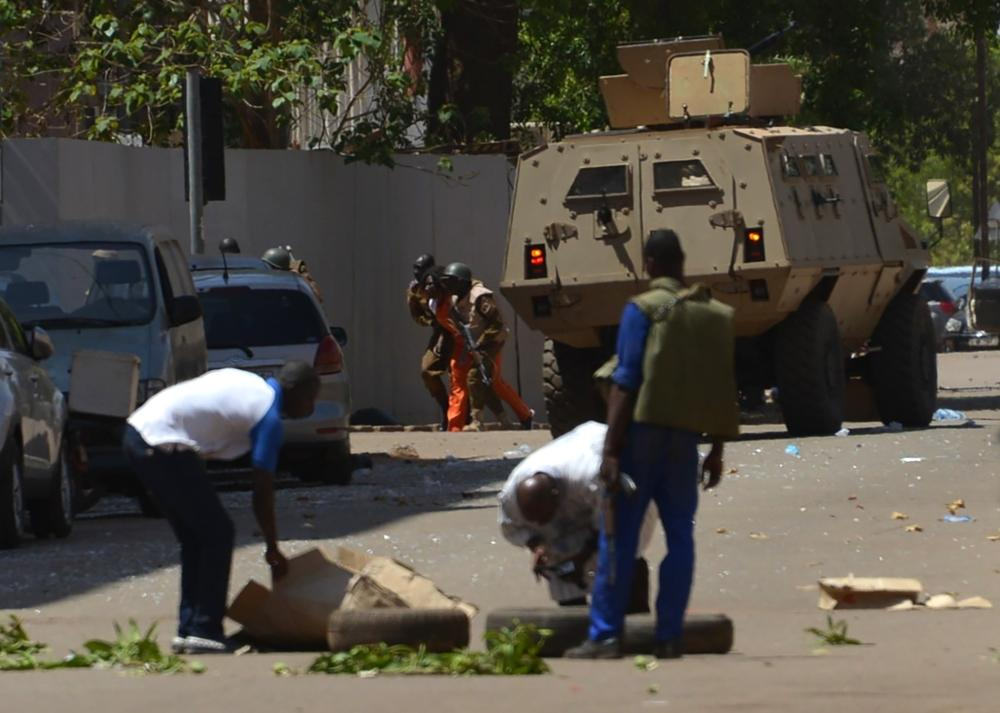 Attacks hit French embassy, military headquarters in Burkina capital