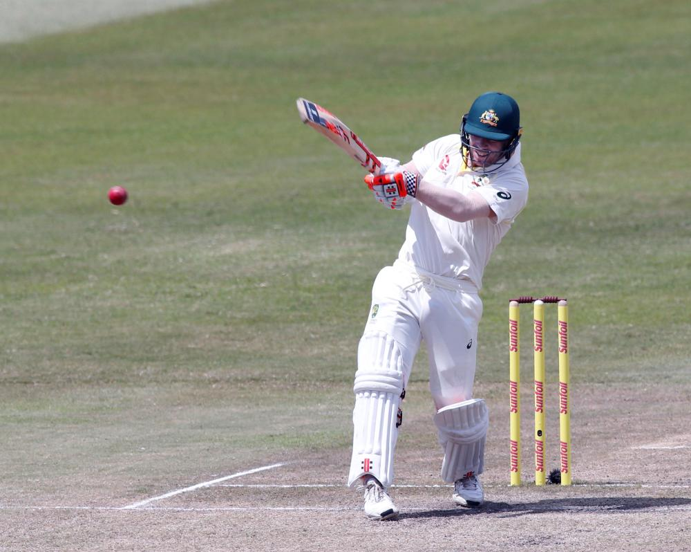 South Africa gain control through AB de Villiers's 74