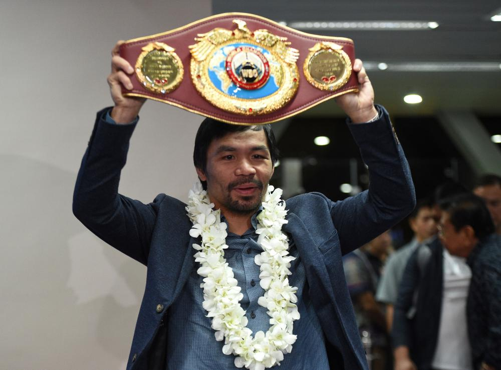 Pacquiao eyes next fight in Malaysia in May or June