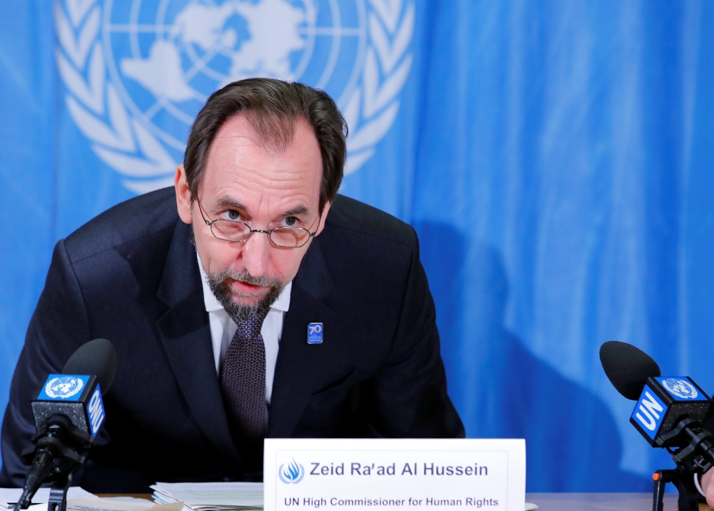 Rodrigo Duterte needs psychiatric testing, UN's Zeid Ra'ad al-Hussein says