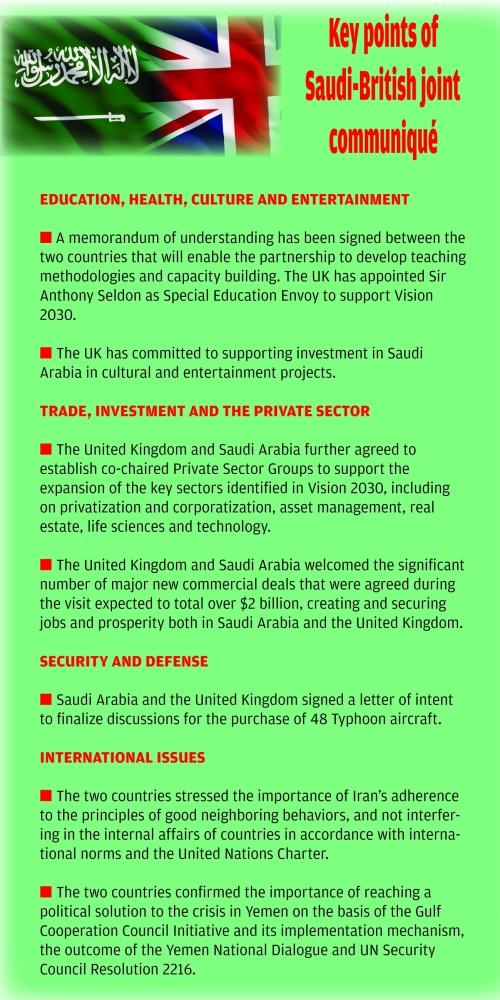 New era in Saudi-British ties - Saudi Gazette