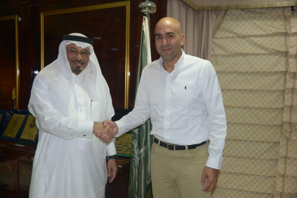 Certina & Hamilton regional director visits Al-Ghazali company