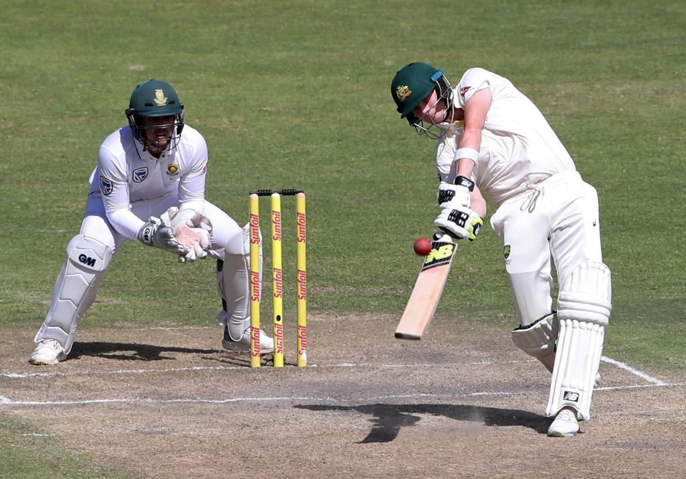 Rabada gets in Warner's face as South Africa controls 2nd test