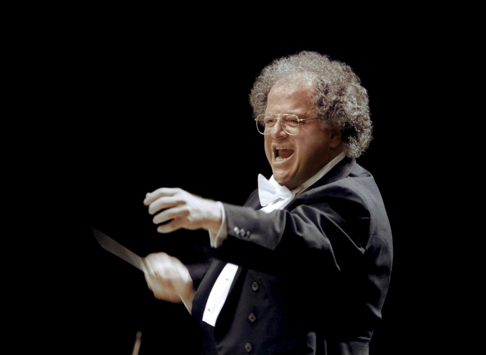 Metropolitan Opera (MET) musical director James Levine is shown in Japan in this file photo provided by the MET. - Reuters