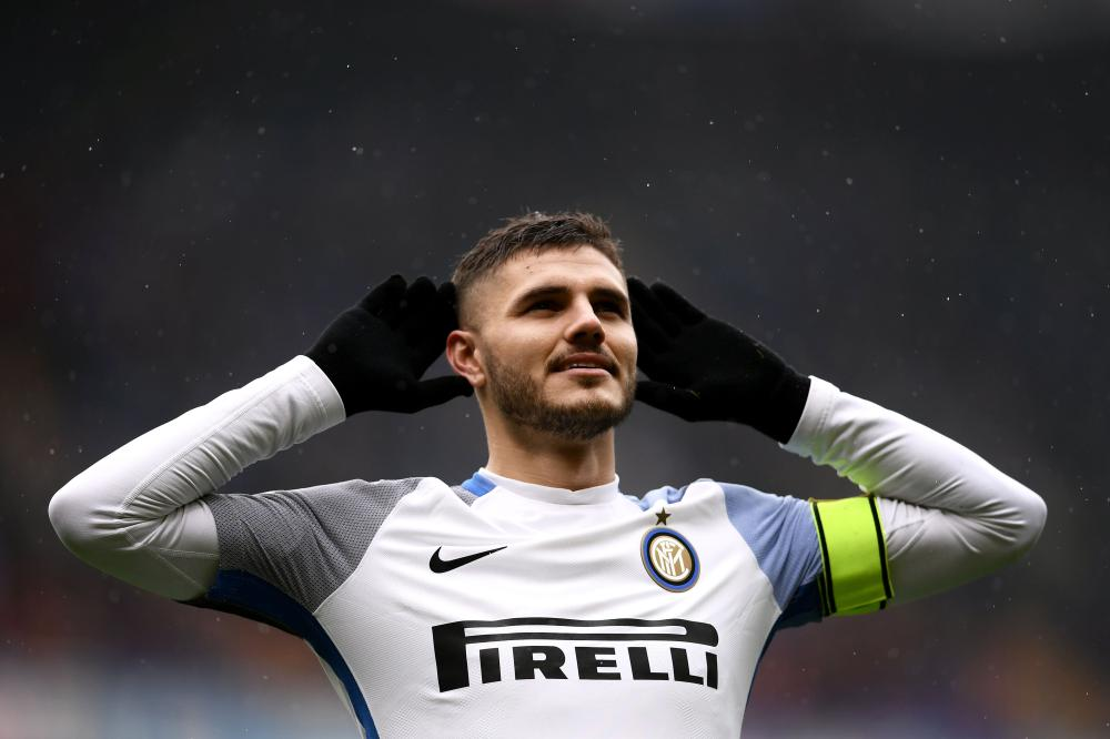 Four-goal Icardi demolishes former side