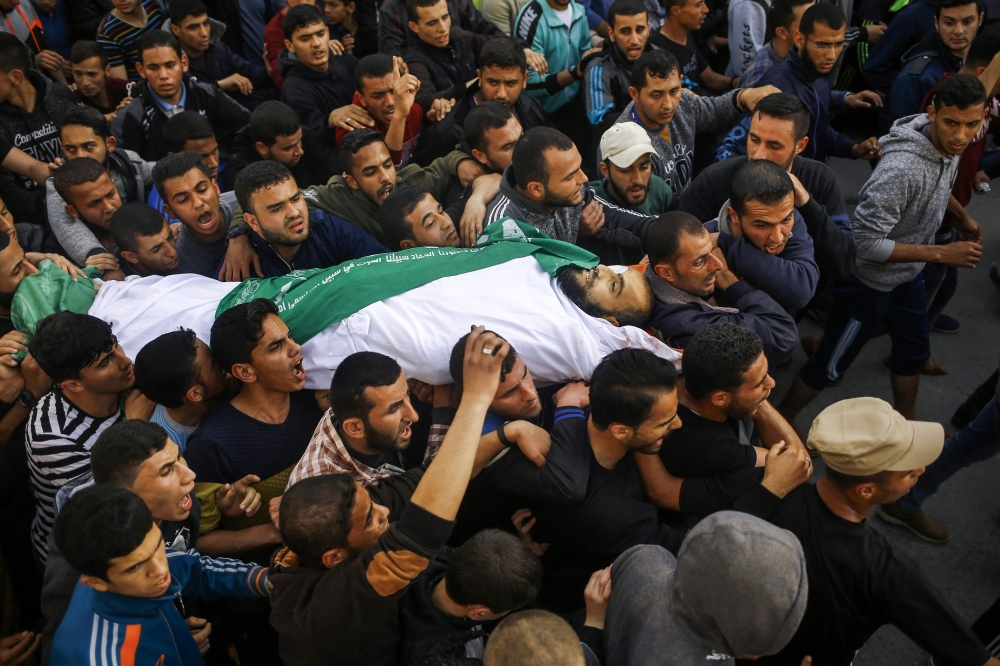Gaza forces encircle suspects in PM assassination bid