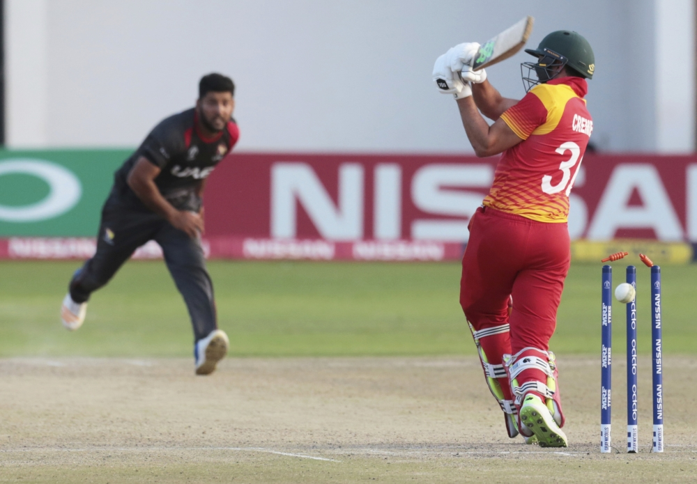Ireland's World Cup hopes remain alive as UAE stun Zimbabwe