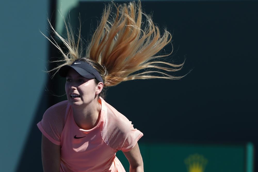 Miami Open: Simona Halep loses to Agnieszka Radwanska
