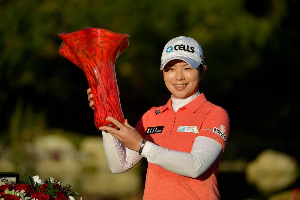 Hole-in-one helps Ji win in California