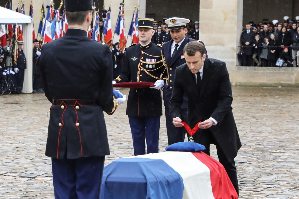 France honors 'hero' policeman who died in terrorist attack