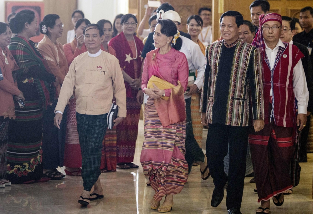 Myanmar MPs choose Suu Kyi's close ally as new president