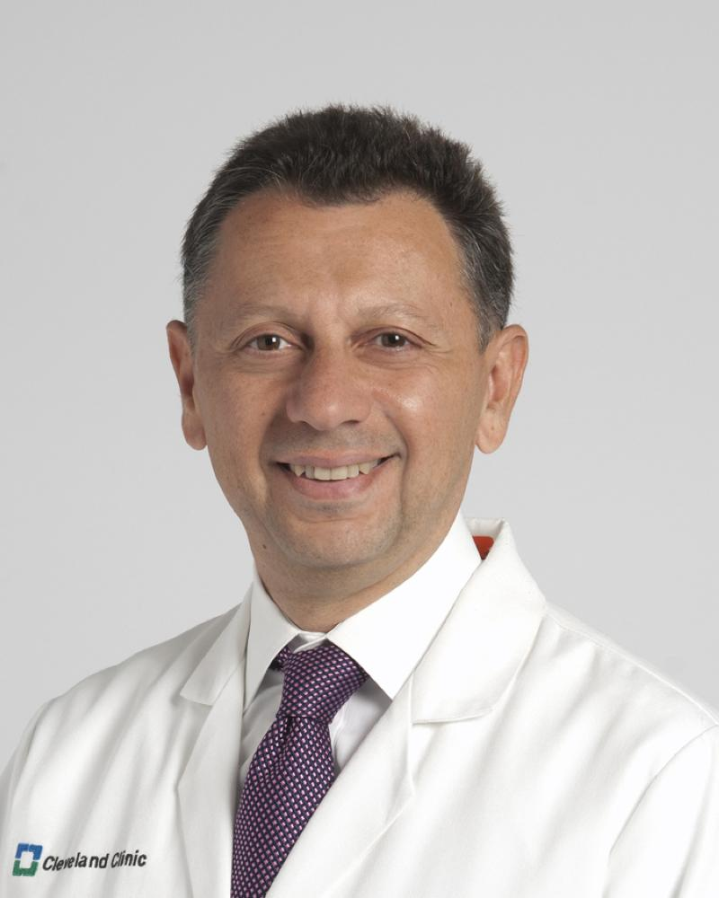 Maan Fares, M.D., cardiologist and vice chairman of Global Patient Services at Cleveland Clinic