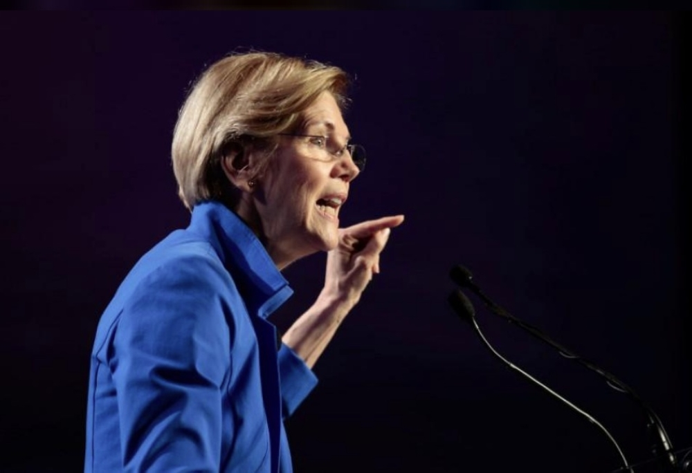 Warren slams 'chaotic foreign policy' while in Asia