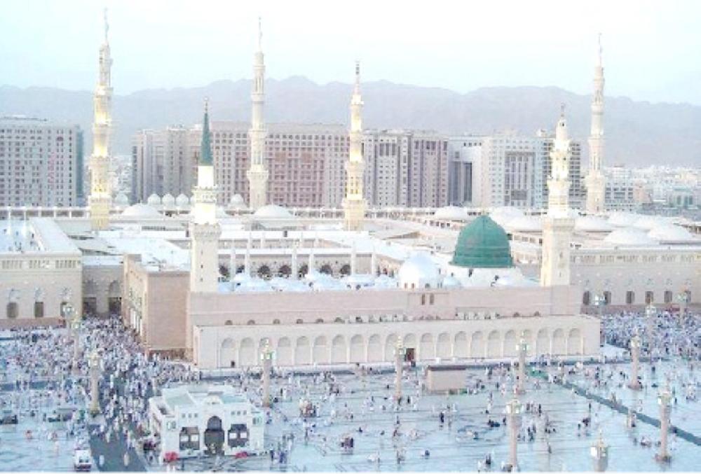 Мечеть Пророка разместит 10.000 паломников для Итикафа на крыше