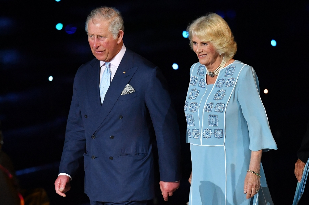 Prince Charles and Camilla touch down in Brisbane