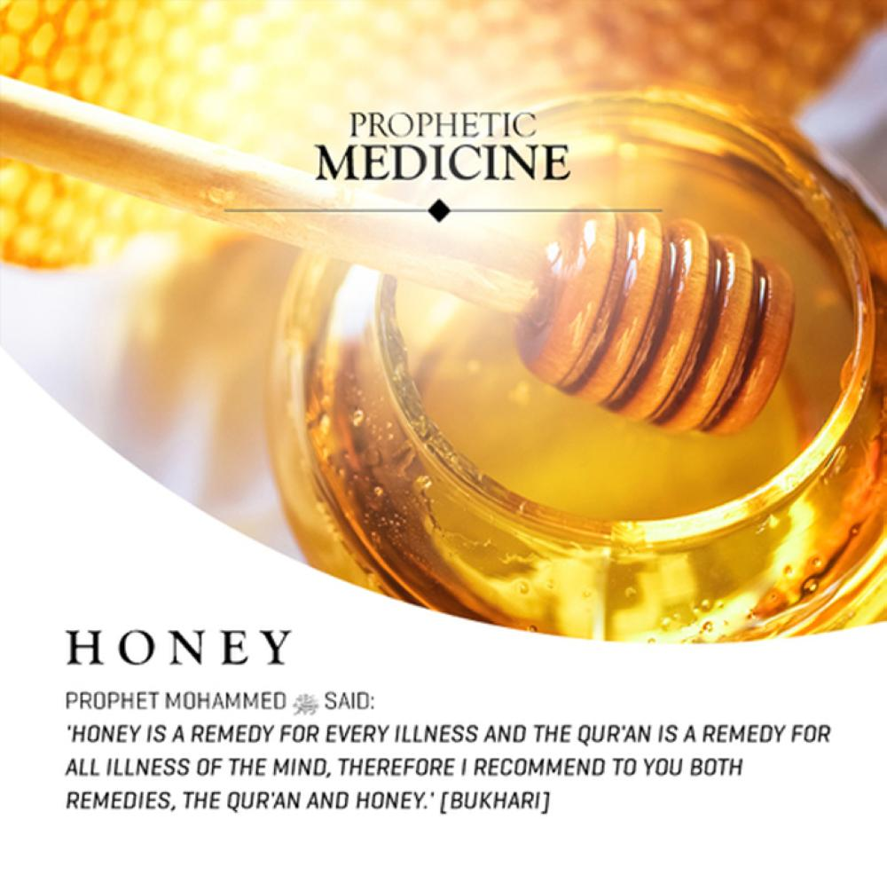 In honey there is healing
