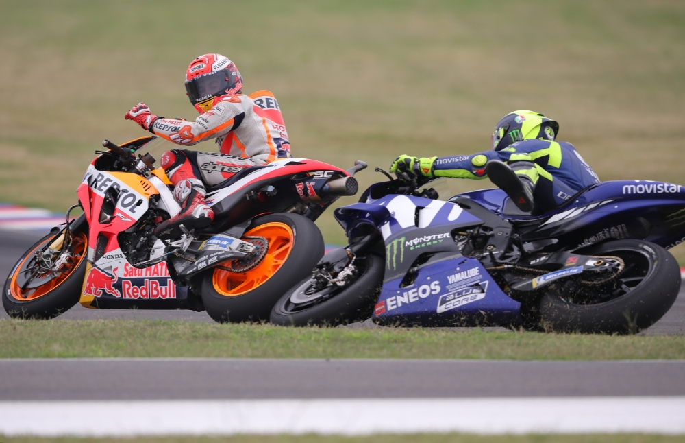 MotoGP's Valentino Rossi is 'Scared' of Marc Marquez's Riding Style""