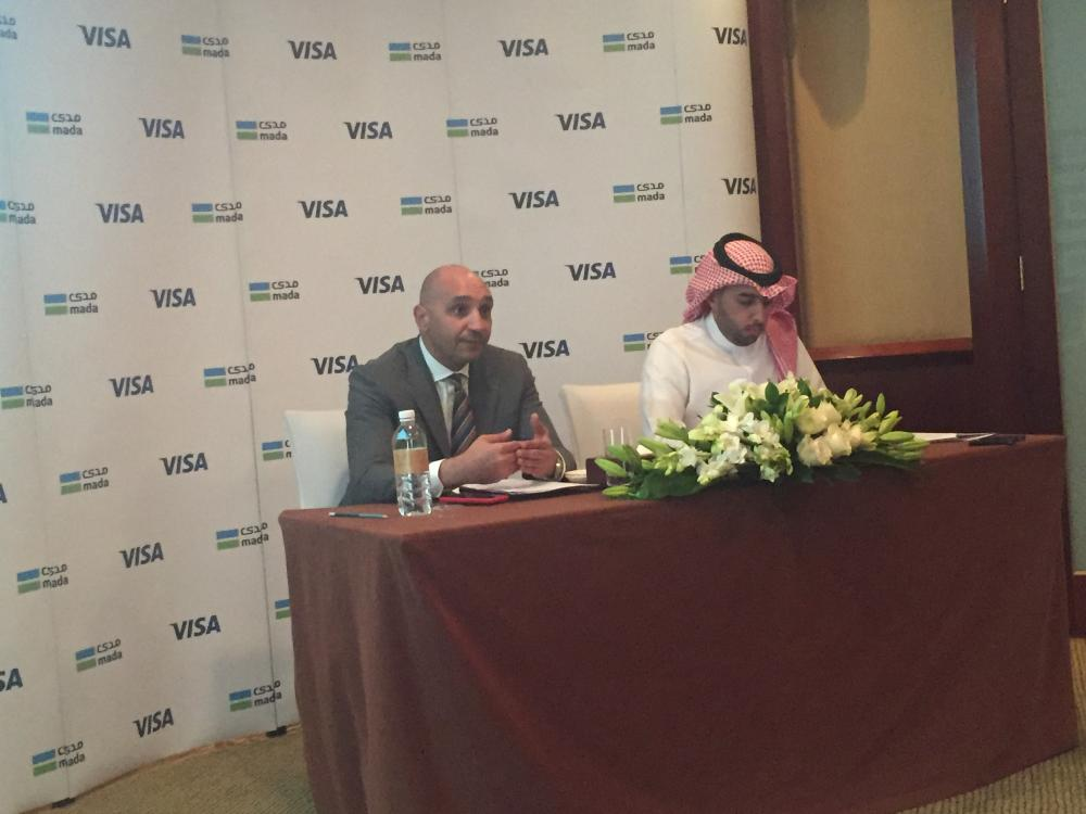 Ziad Al Yousef, General Manager of National Payments System – mada and SADAD at the Saudi and Ahmed Gaber, Visa Group Country Manager for KSA, Bahrain, Kuwait and Oman, Visa_03