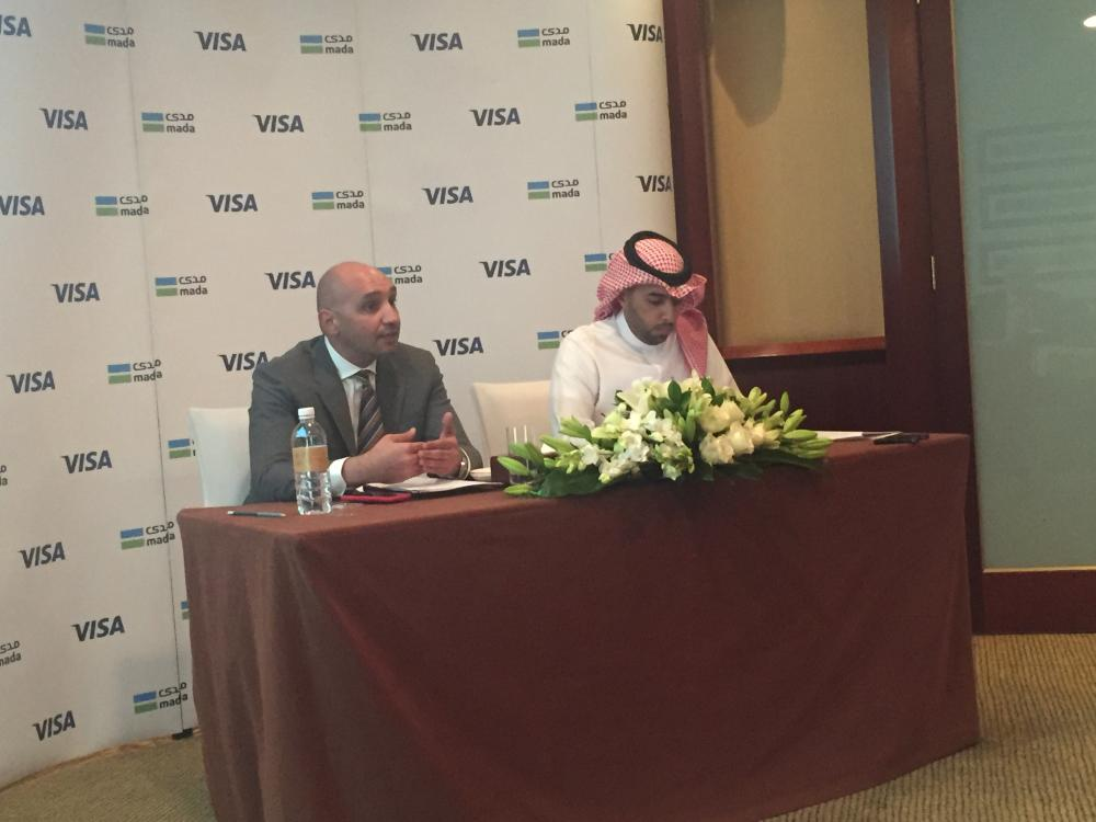 Ziad Al Yousef, General Manager of National Payments System – mada and SADAD at the Saudi and Ahmed Gaber, Visa Group Country Manager for KSA, Bahrain, Kuwait and Oman, Visa_02