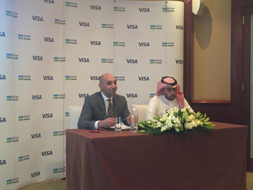 Ziad Al Yousef, General Manager of National Payments System – mada and SADAD at the Saudi and Ahmed Gaber, Visa Group Country Manager for KSA, Bahrain, Kuwait and Oman, Visa_04