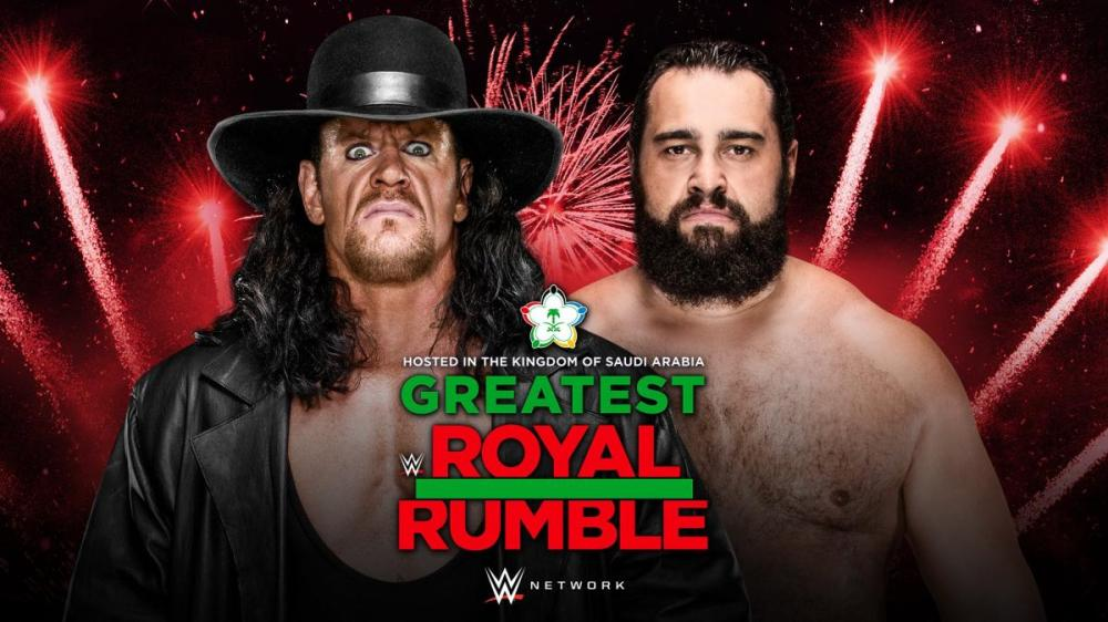 The Undertaker is in for Greatest Royal Rumble