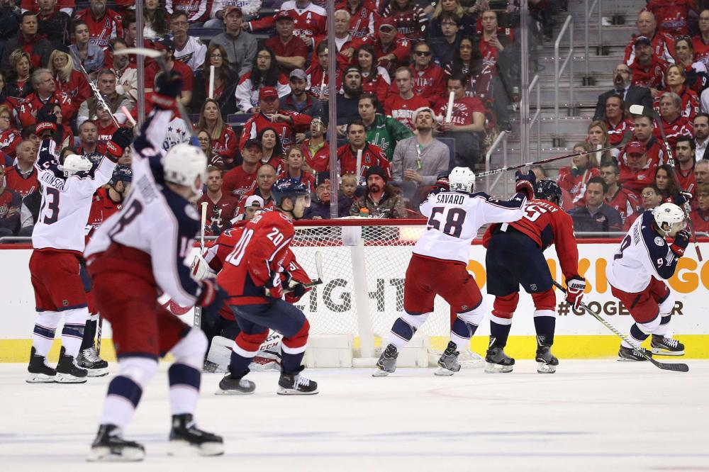 Three points including OT victor in Game 1 — Artemi Panarin