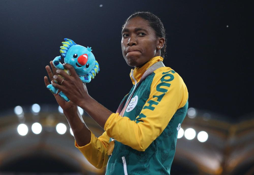 Semenya wins 800m gold at Commonwealth Games