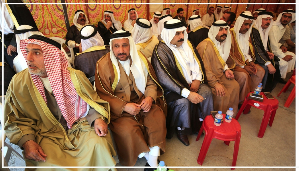 Tribal leaders gather for a meeting, Mosul. — Courtesy photo