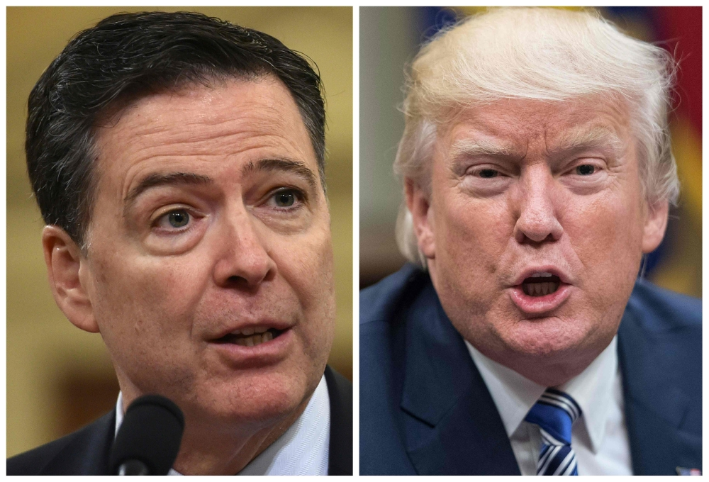 Donald Trump demands former Federal Bureau of Investigation chief James Comey is jailed