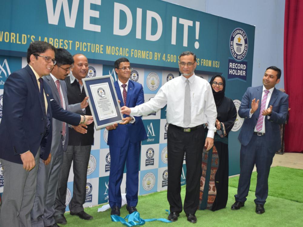 IISJ, Abeer celebrate Guinness World Record
