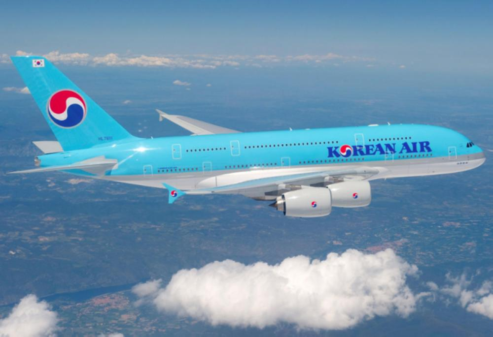 Korean Air heiress suspended over alleged cup toss