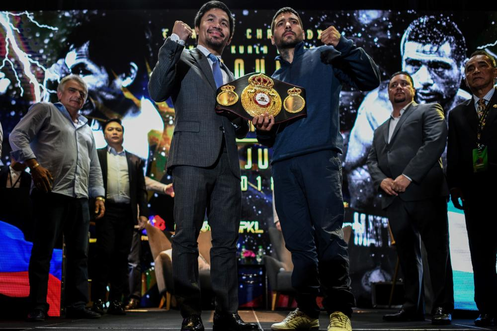 Manny Pacquiao says fight against Lucas Matthysse won't be his last