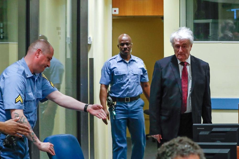 UN Judges Will Hear Karadzic Appeal Of 40-Year War Crimes Sentence