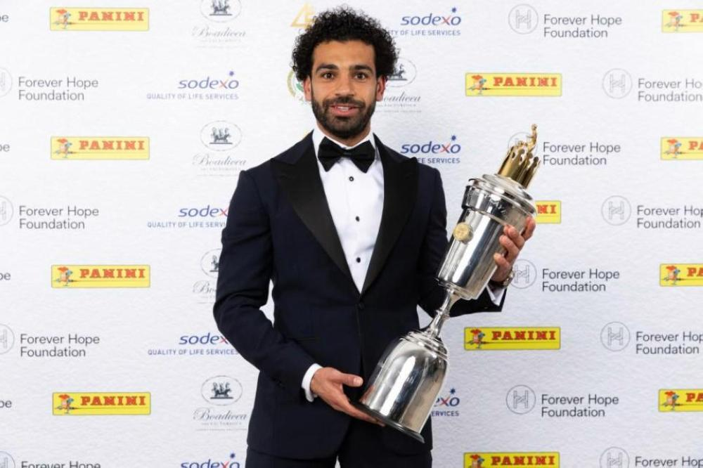 Famous Egyptian soccer player, Mohammed Salah