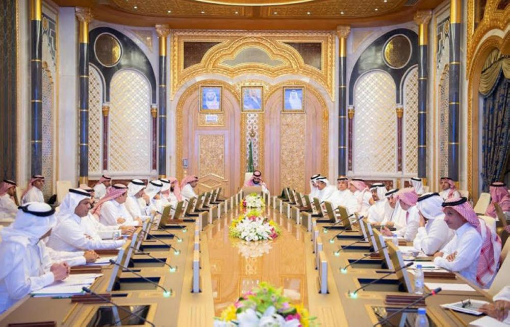 Crown Prince Muhammad Bin Salman, deputy premier and minister of defense, chairs the meeting of the Council of Economic and Development Affairs in Riyadh on Tuesday. — SPA