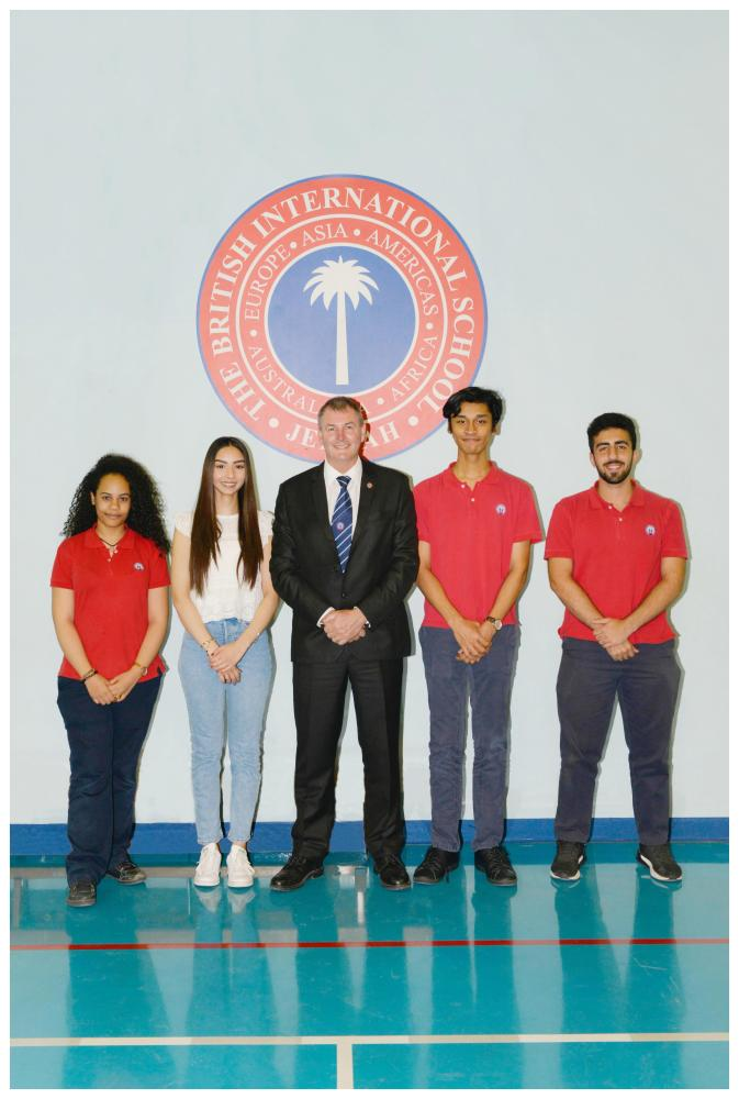 BISJ students receive offers from global universities