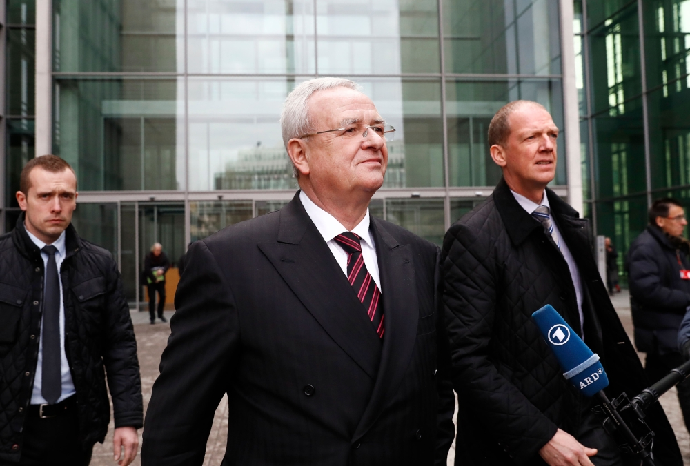 Former VW CEO Martin Winterkorn indicted in MI