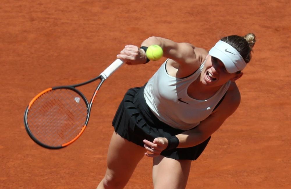 Pliskova ends Halep's Madrid hat-trick bid, Sharapova out